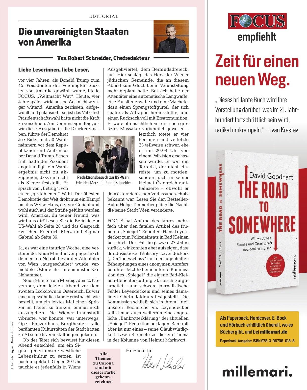 FOCUS Magazin FOCUS Magazin - So halten Sie durch!