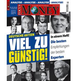 FOCUS-MONEY Deutsche Aktien sind viel zu günstig