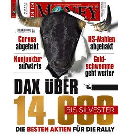 FOCUS-MONEY Dax über 14000 bis Silvester: Die besten Aktien für die Rally