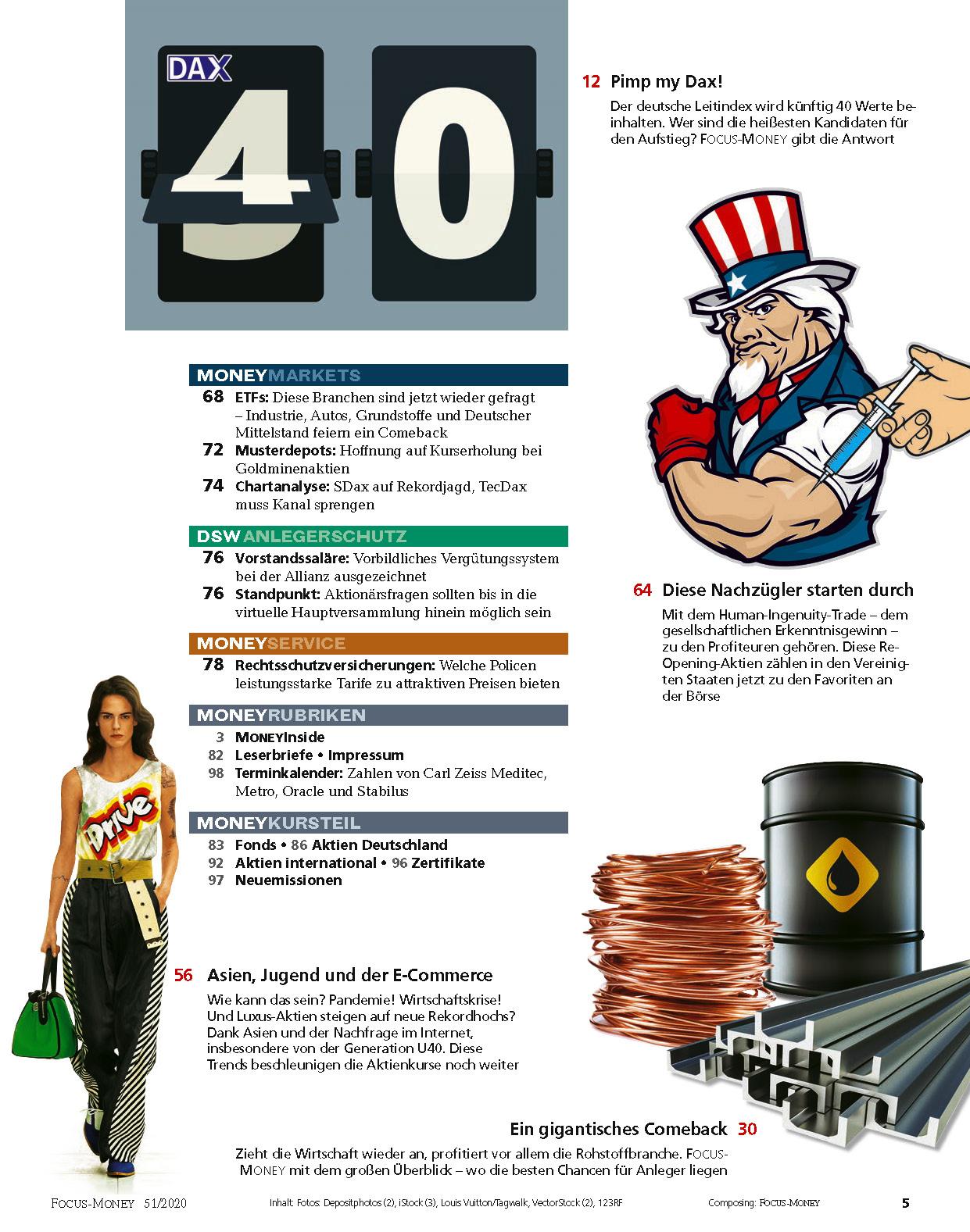 FOCUS-MONEY FOCUS MONEY – Dax über 14000 bis Silvester: Die besten Aktien für die Rally
