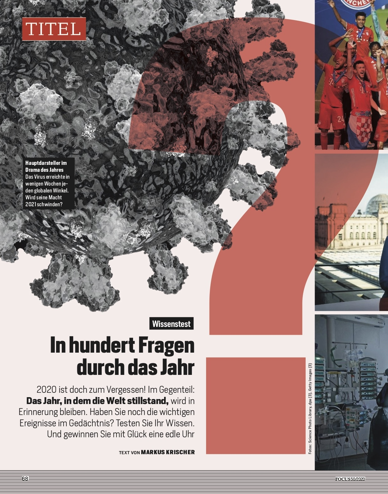 FOCUS Magazin FOCUS Magazin - Der große Wissenstest 2020