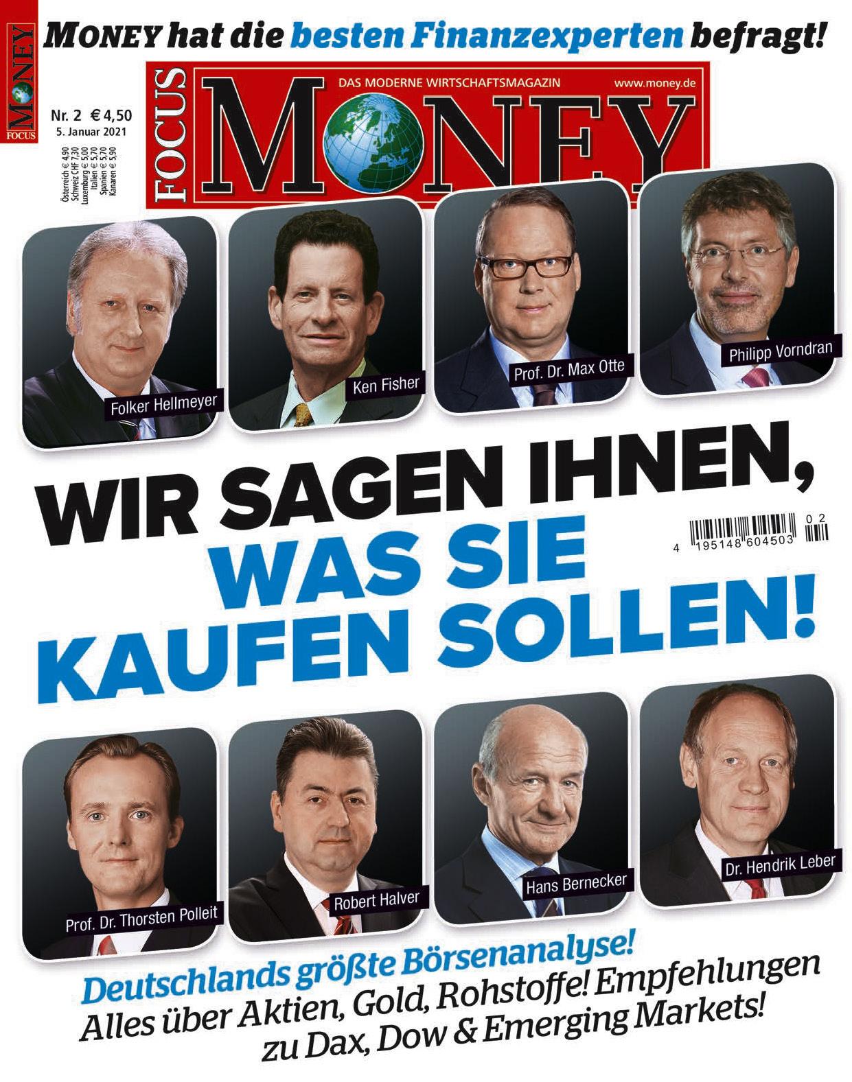FOCUS-MONEY FOCUS MONEY – Wir sagen Ihnen, was Sie kaufen sollen 2021
