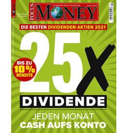 FOCUS-MONEY Die besten Dividendenaktien 2021