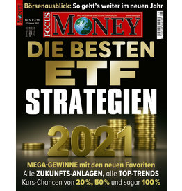 FOCUS MONEY Die besten ETF-Strategien 2021