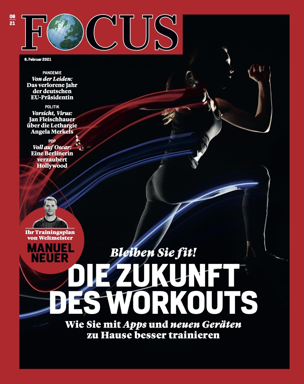 FOCUS Magazin FOCUS Magazin - Die Zukunft des Workouts