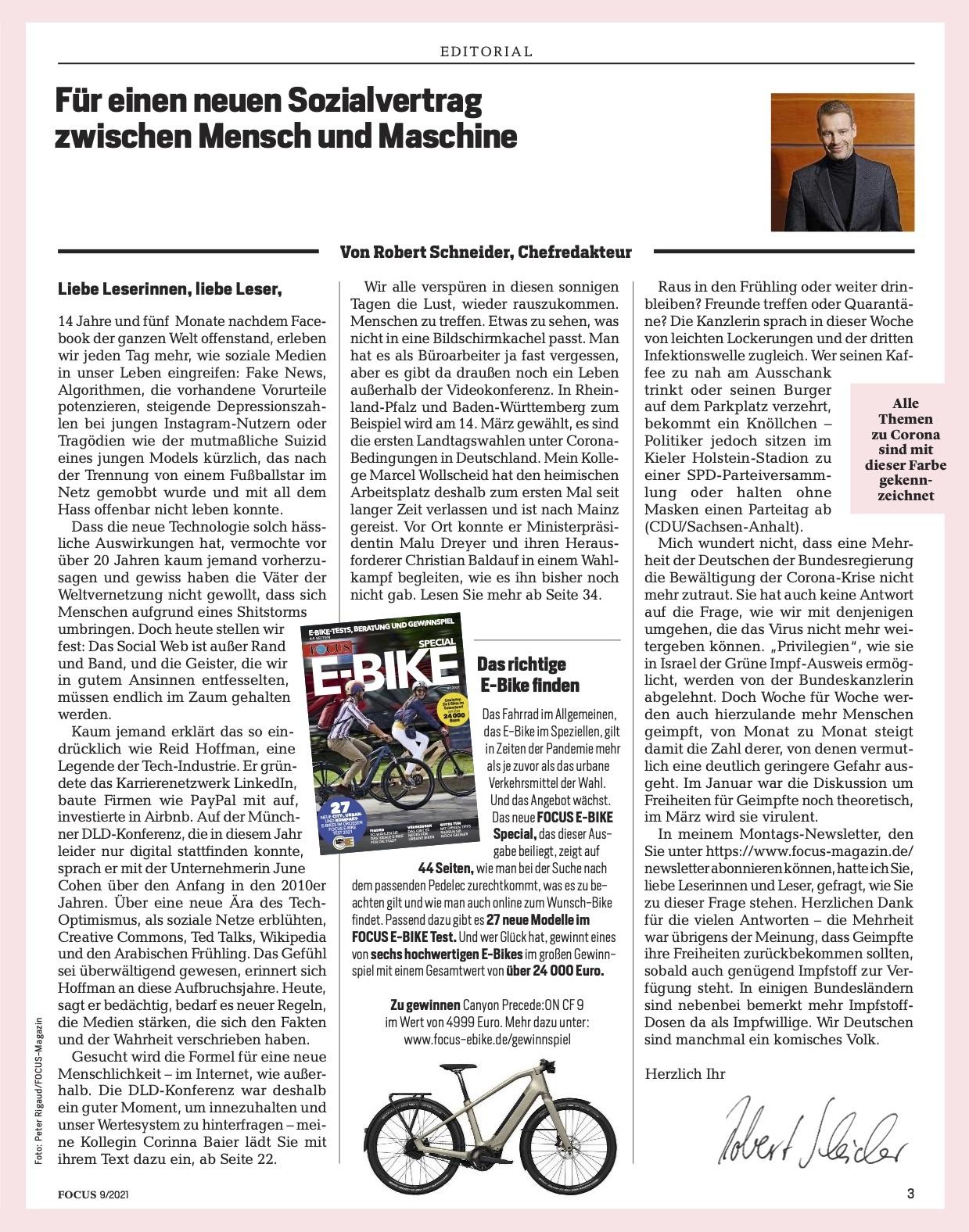 FOCUS Magazin FOCUS Magazin - Der digitale Goldrausch