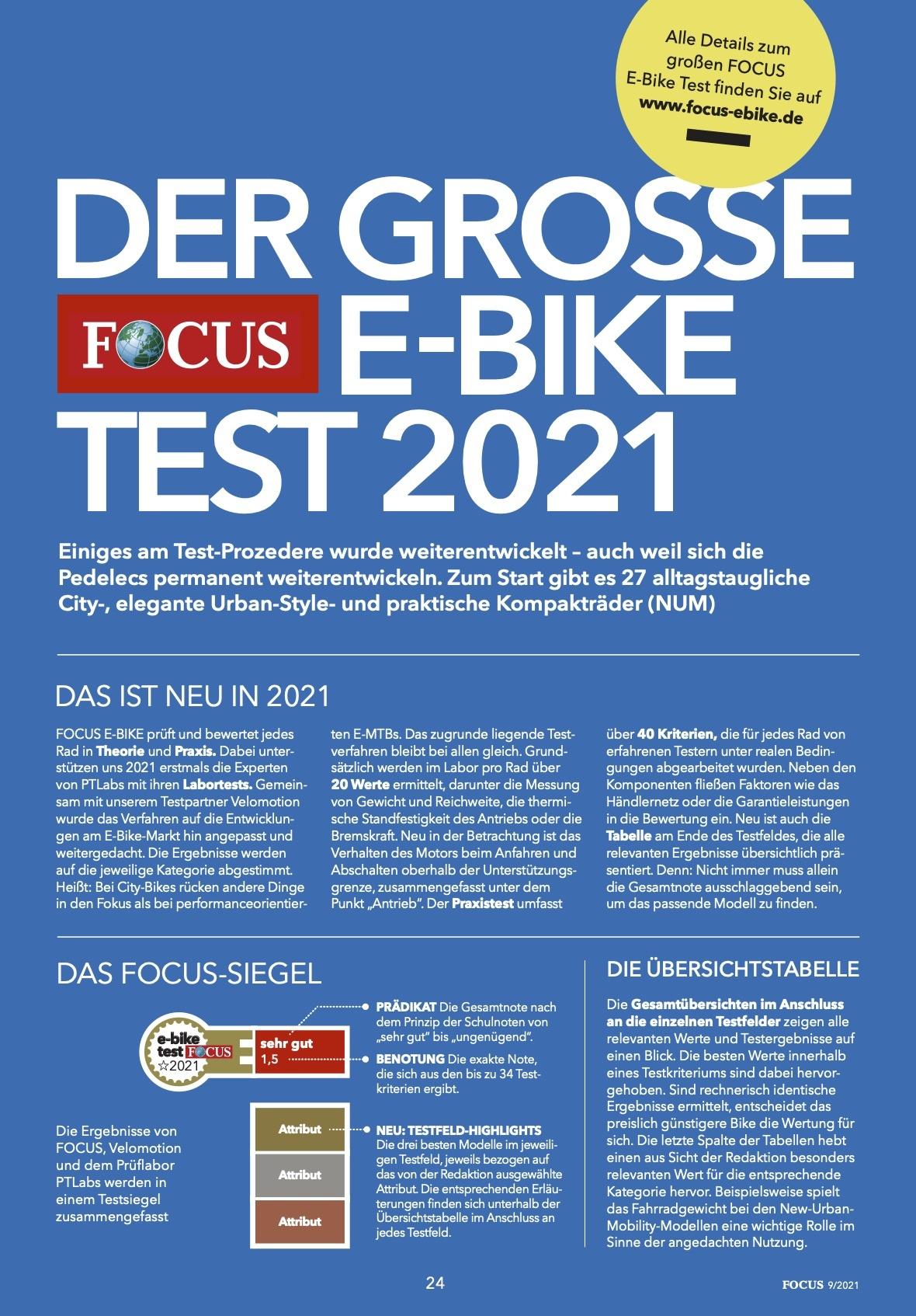 FOCUS E-BIKE 01/2021