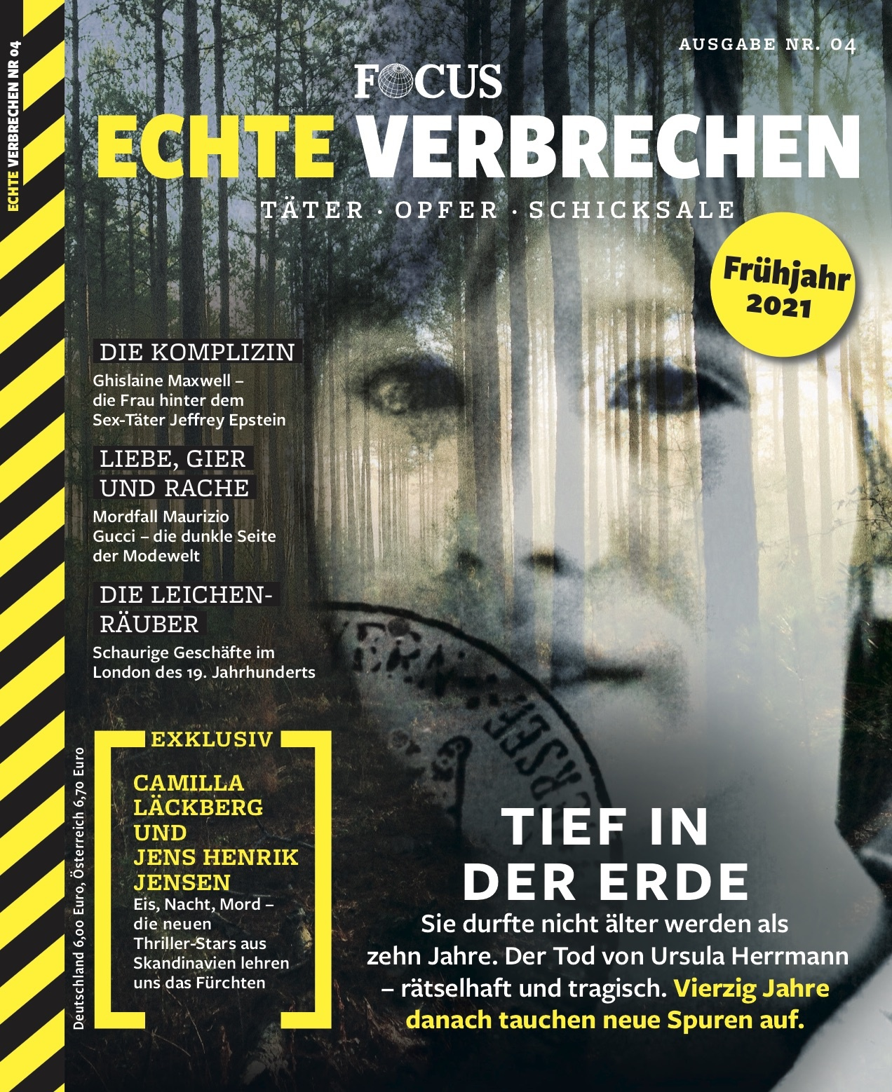 FOCUS Echte Verbrechen FOCUS Echte Verbrechen Nr. 04/2021