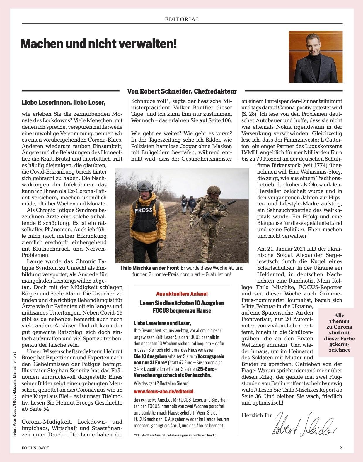 FOCUS Magazin FOCUS Magazin - In der Müdigkeits-Falle