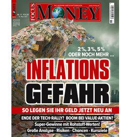 FOCUS-MONEY Inflationsgefahr! So legen Sie ihr Geld jetzt neu an