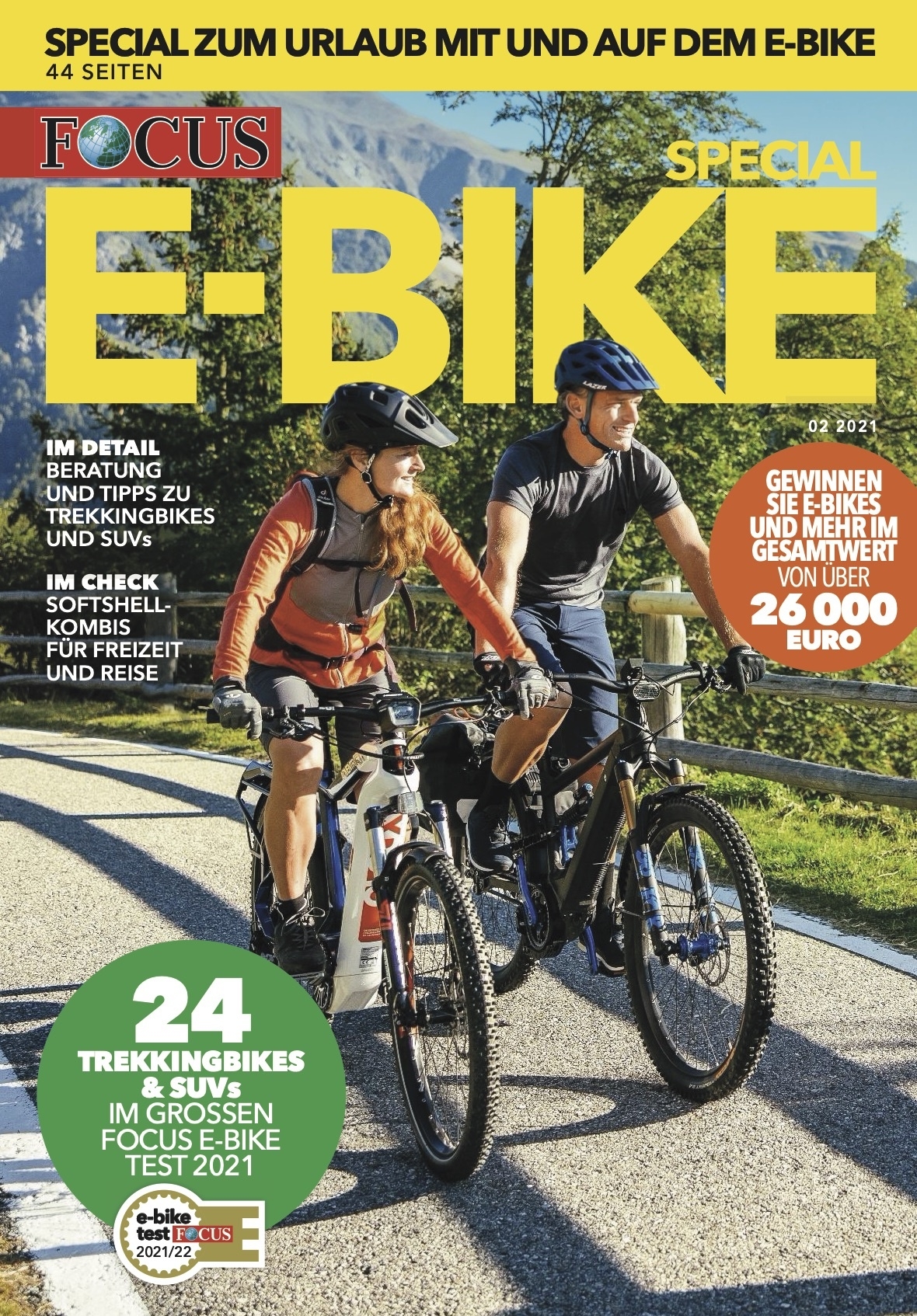 FOCUS E-BIKE 02/2021