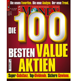 FOCUS-MONEY Die 100 besten Value-Aktien