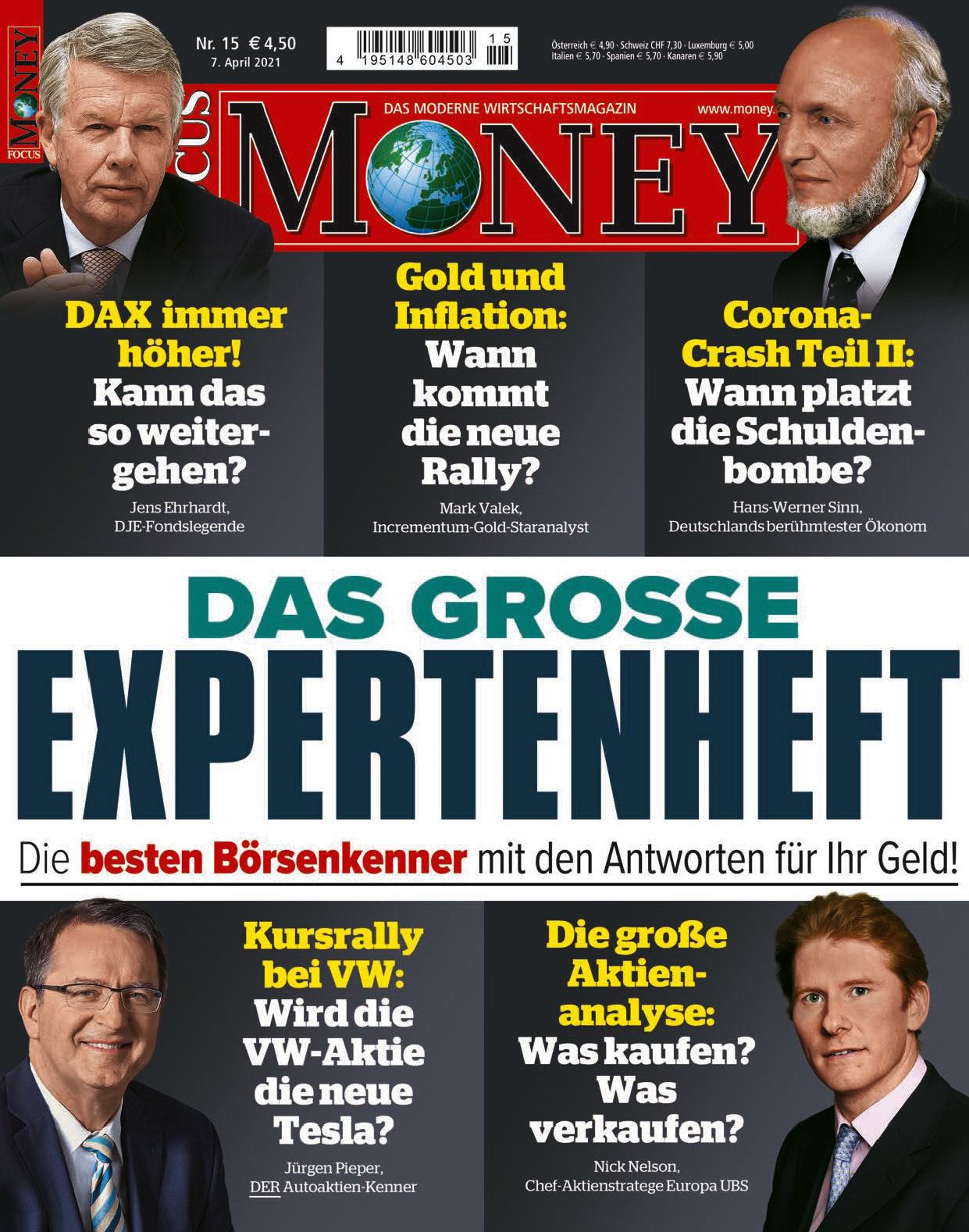 FOCUS-MONEY FOCUS MONEY – Das große Expertenheft