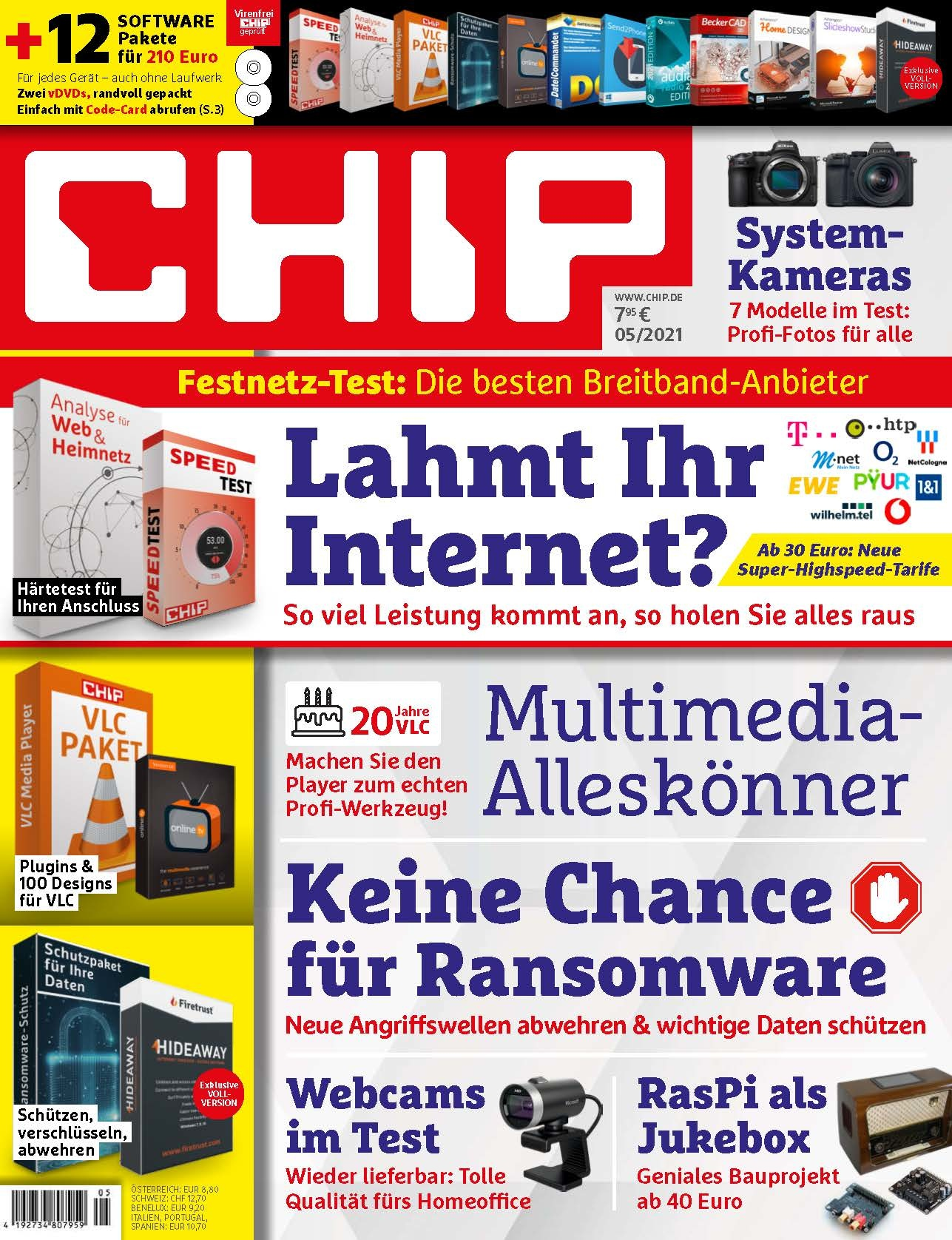 CHIP CHIP Plus - Lahmt Ihr Internet?