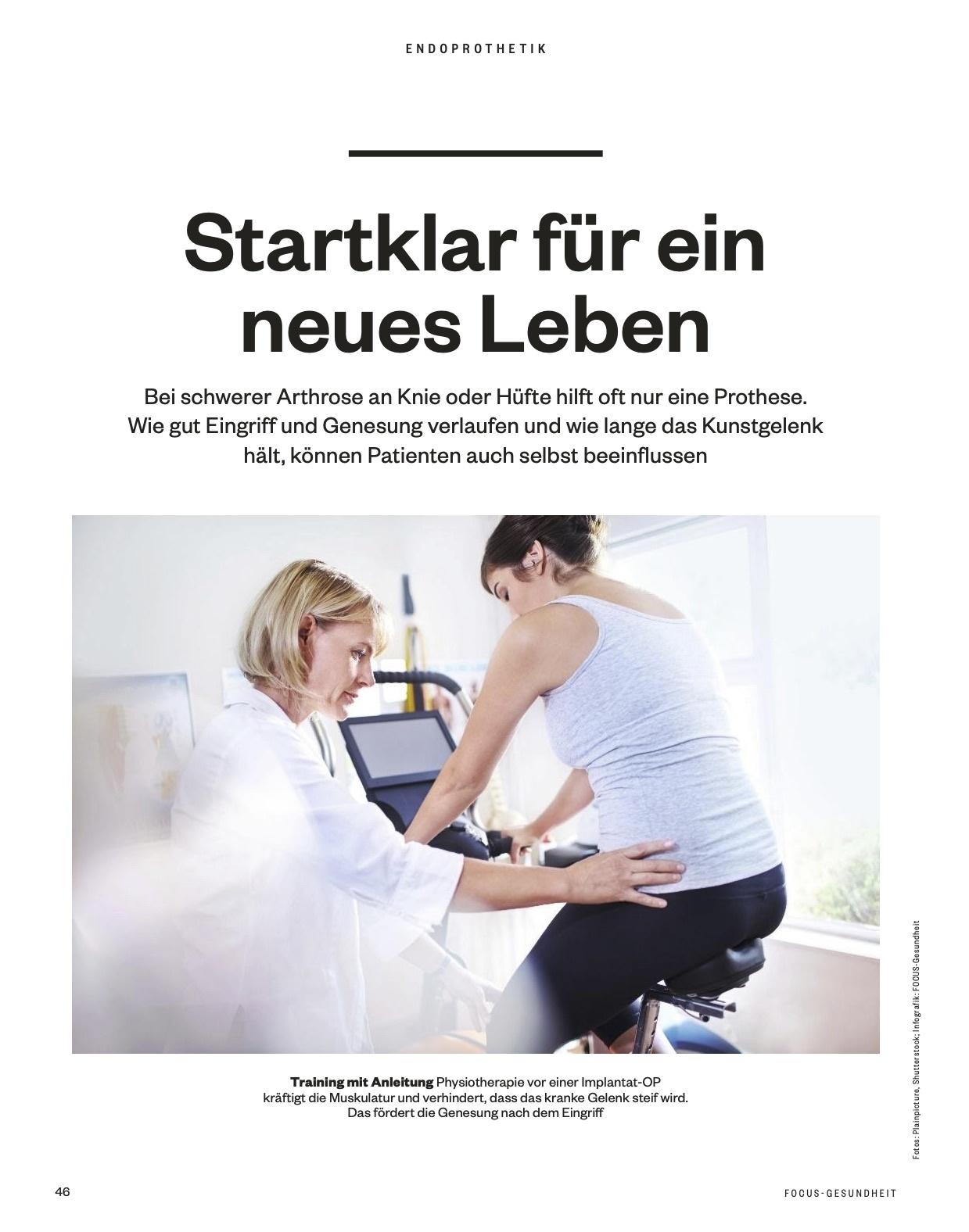 FOCUS-GESUNDHEIT FOCUS Gesundheit - Rücken & Gelenke: Schmerzfrei bewegen