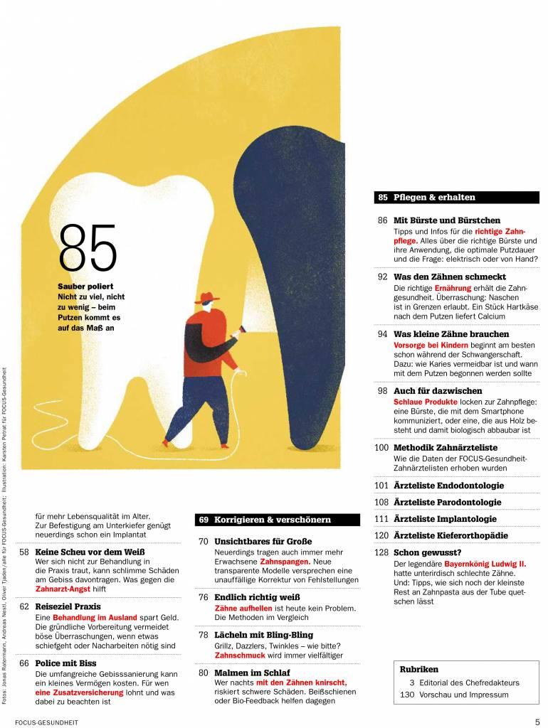 FOCUS-GESUNDHEIT FOCUS Gesundheit - Karies, Kronen, Korrekturen - was Zahnexperten heute alles können