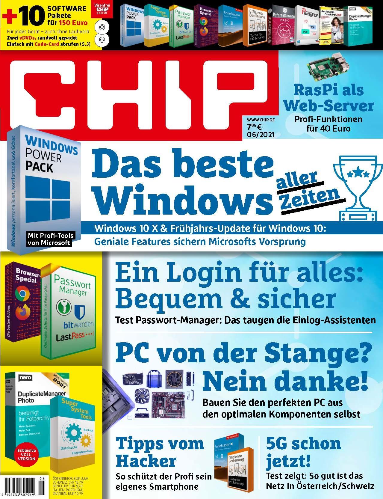 CHIP CHIP Plus - Das beste Windows aller Zeiten