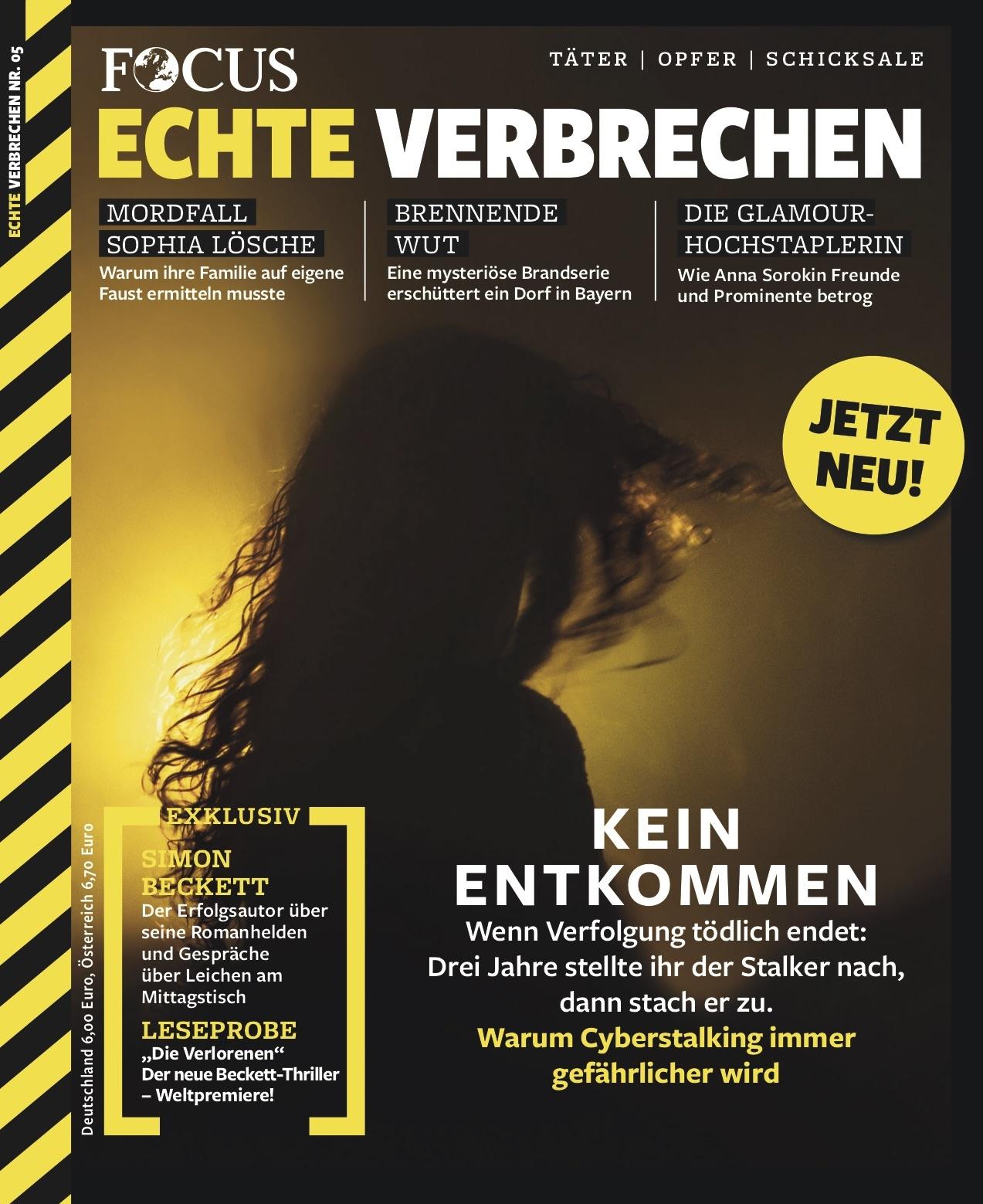 FOCUS Echte Verbrechen FOCUS Echte Verbrechen Nr. 05/2021