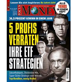 FOCUS-MONEY Fünf Profis verraten ihre ETF-Strategien