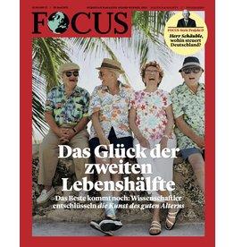 FOCUS Magazin Das Glück der zweiten Lebenshälfte