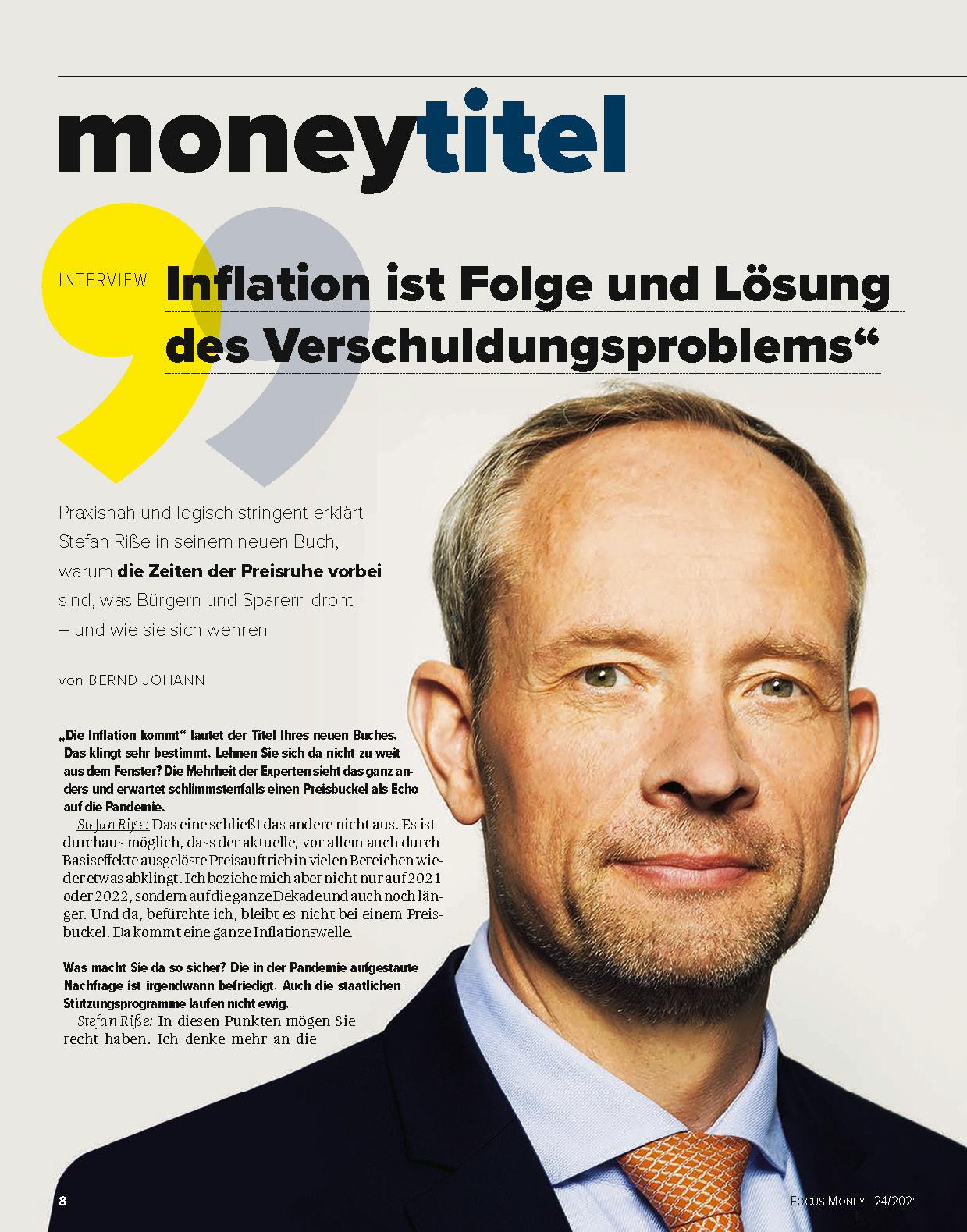 FOCUS-MONEY FOCUS MONEY – Zeitbombe Inflation