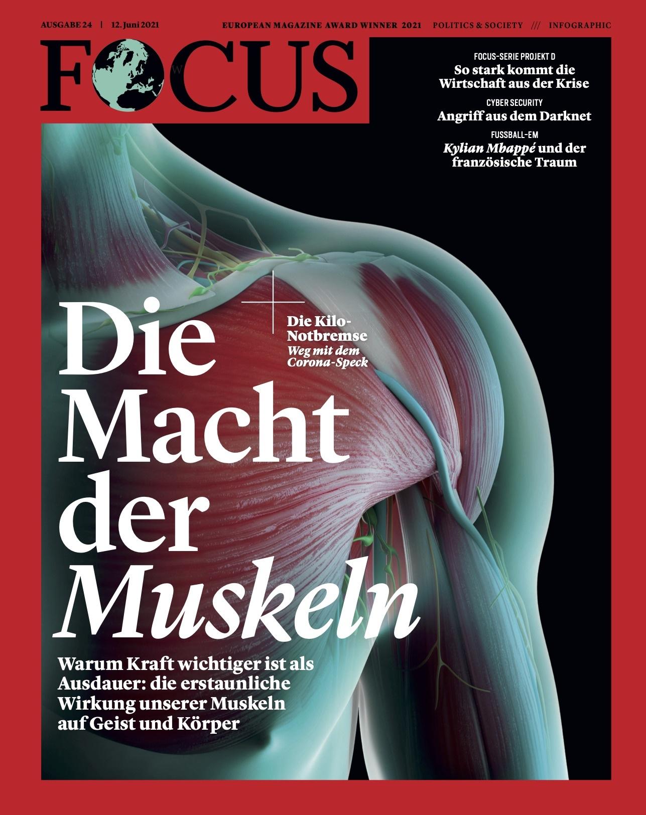 FOCUS Magazin FOCUS Magazin - Die Macht der Muskeln