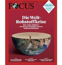 FOCUS Magazin Die Weltrohstoffkrise