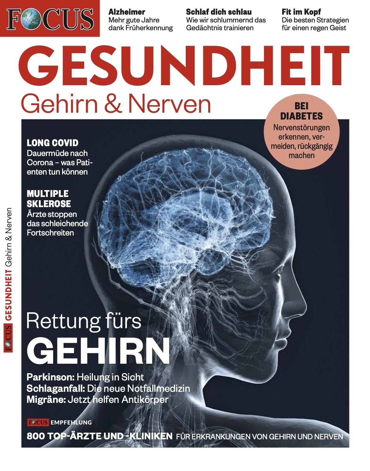FOCUS-GESUNDHEIT FOCUS Gesundheit - Gehirn & Nerven 2021