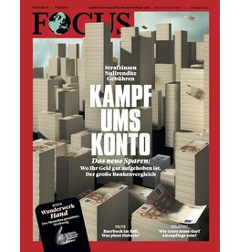 FOCUS Magazin Kampf ums Konto