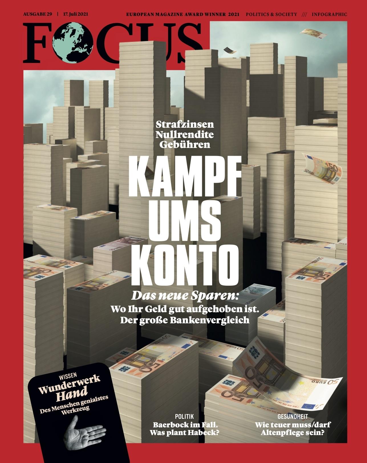FOCUS Magazin FOCUS Magazin - Kampf ums Konto