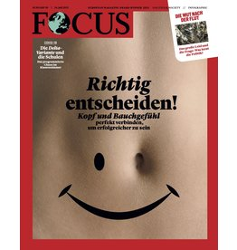 FOCUS Magazin Richtig entscheiden!