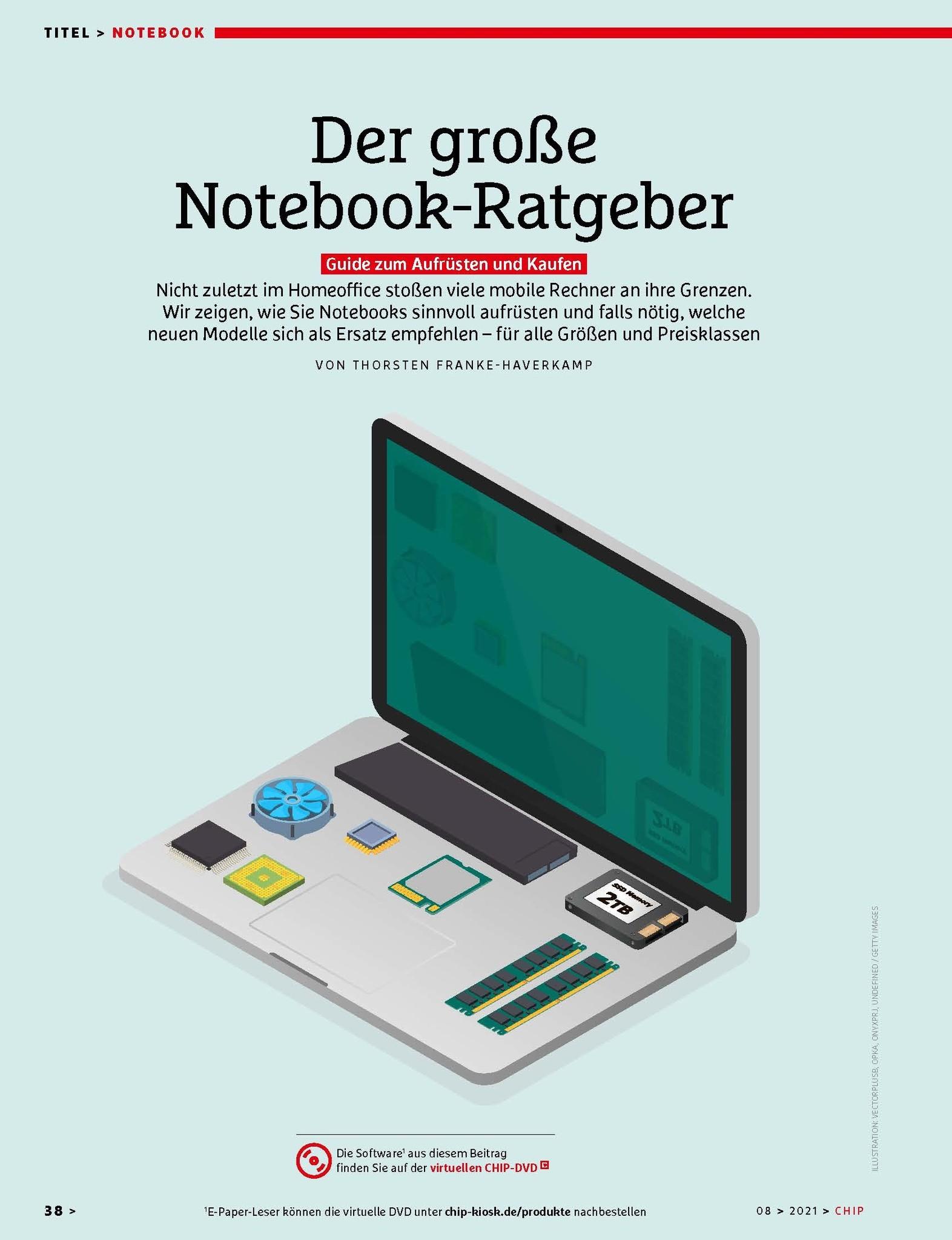 CHIP CHIP Plus – Laptop-Tuning versus Neukauf