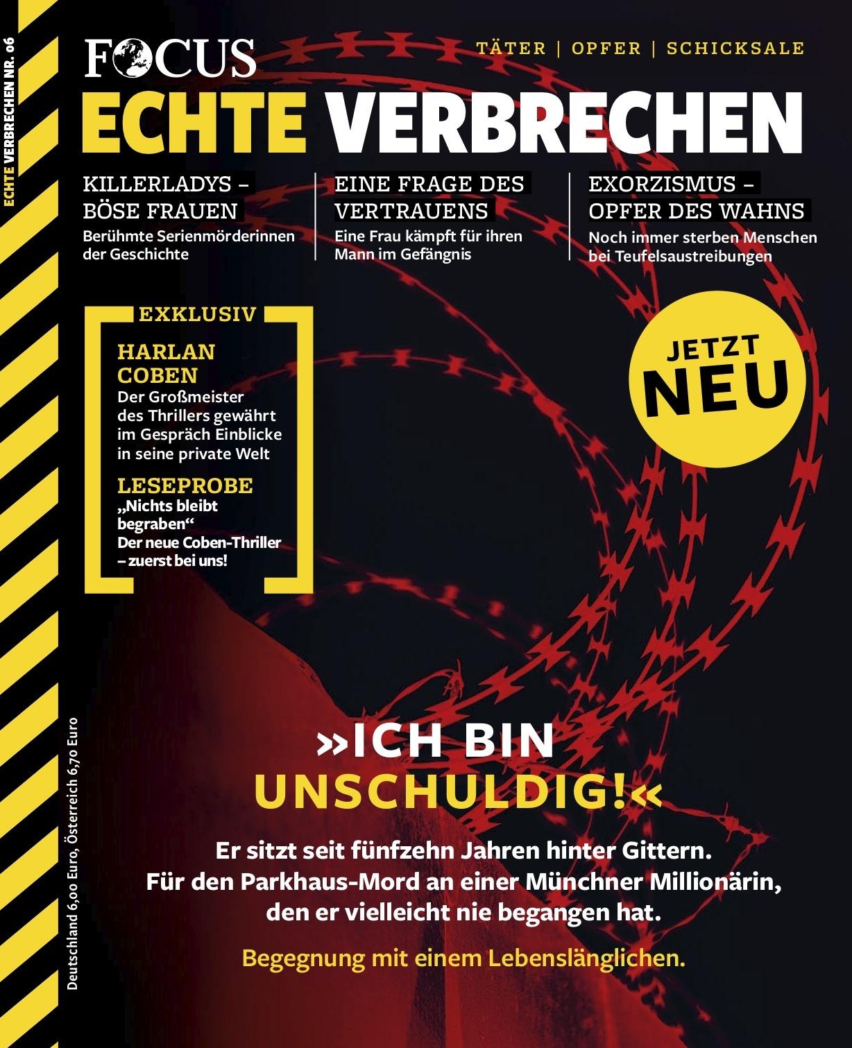 FOCUS Echte Verbrechen FOCUS Echte Verbrechen Nr. 06/2021