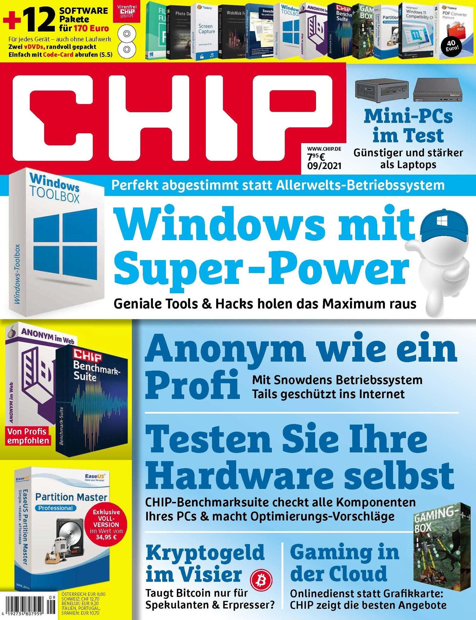 CHIP CHIP Plus – Windows mit Super-Power