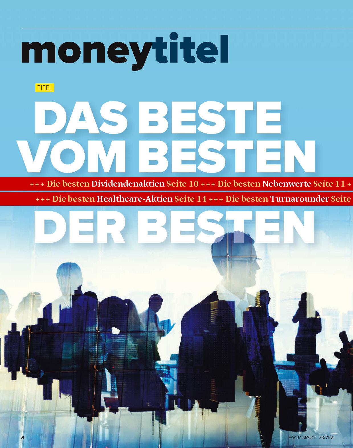 FOCUS-MONEY FOCUS MONEY – Die besten Empfehlungen der besten Experten der Welt