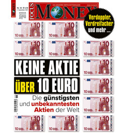 FOCUS-MONEY Keine Aktie über 10 Euro