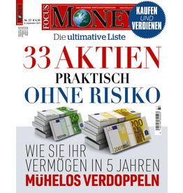 FOCUS-MONEY 33 Aktien praktisch ohne Risiko