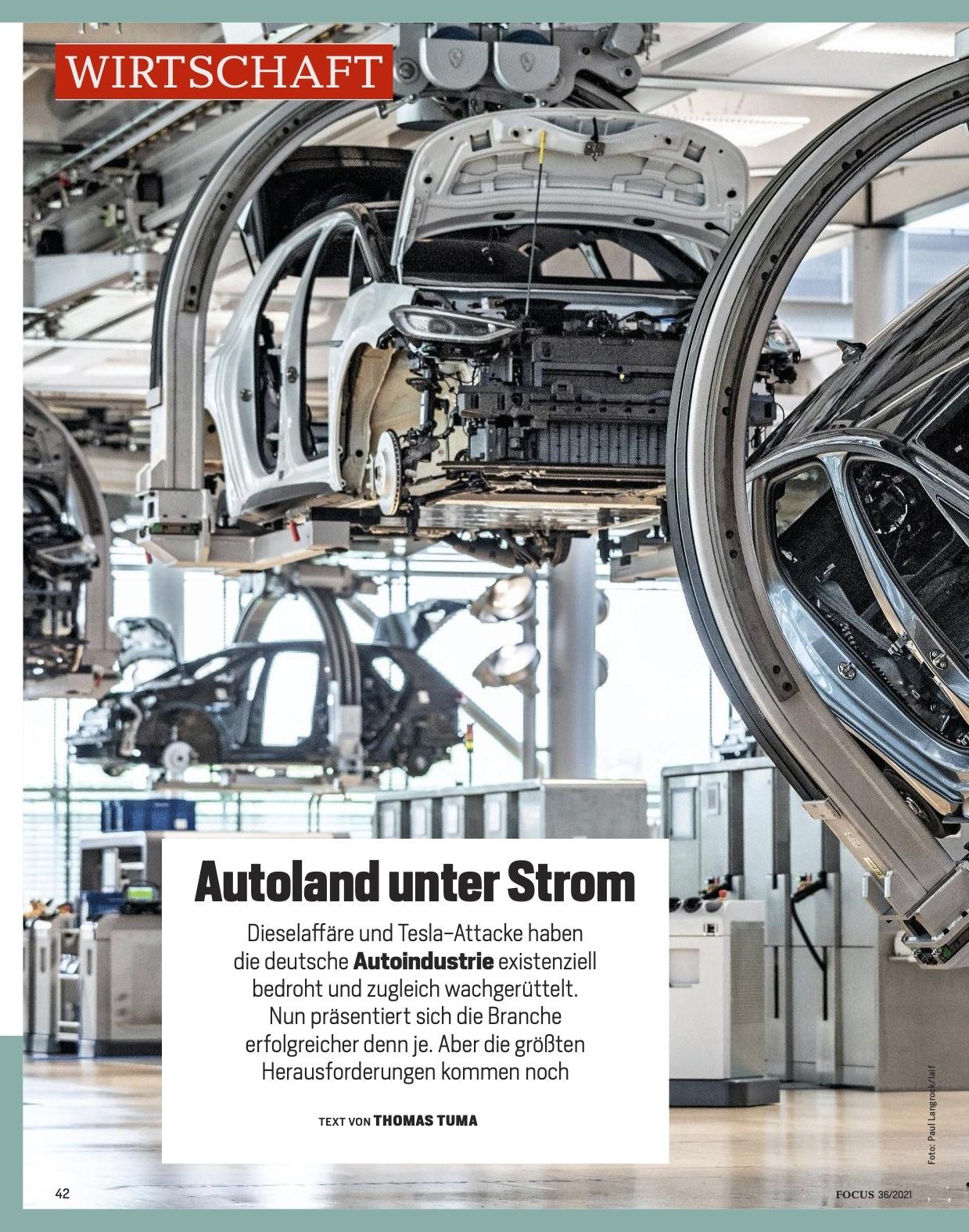 FOCUS Magazin FOCUS Magazin - Autoland unter Strom