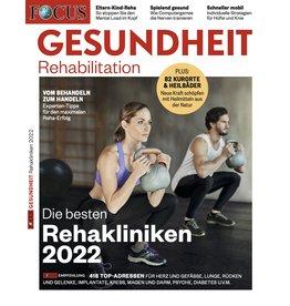 FOCUS-GESUNDHEIT Die besten Reha-Kliniken 2022