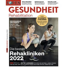 FOCUS-GESUNDHEIT Die besten Rehakliniken 2022