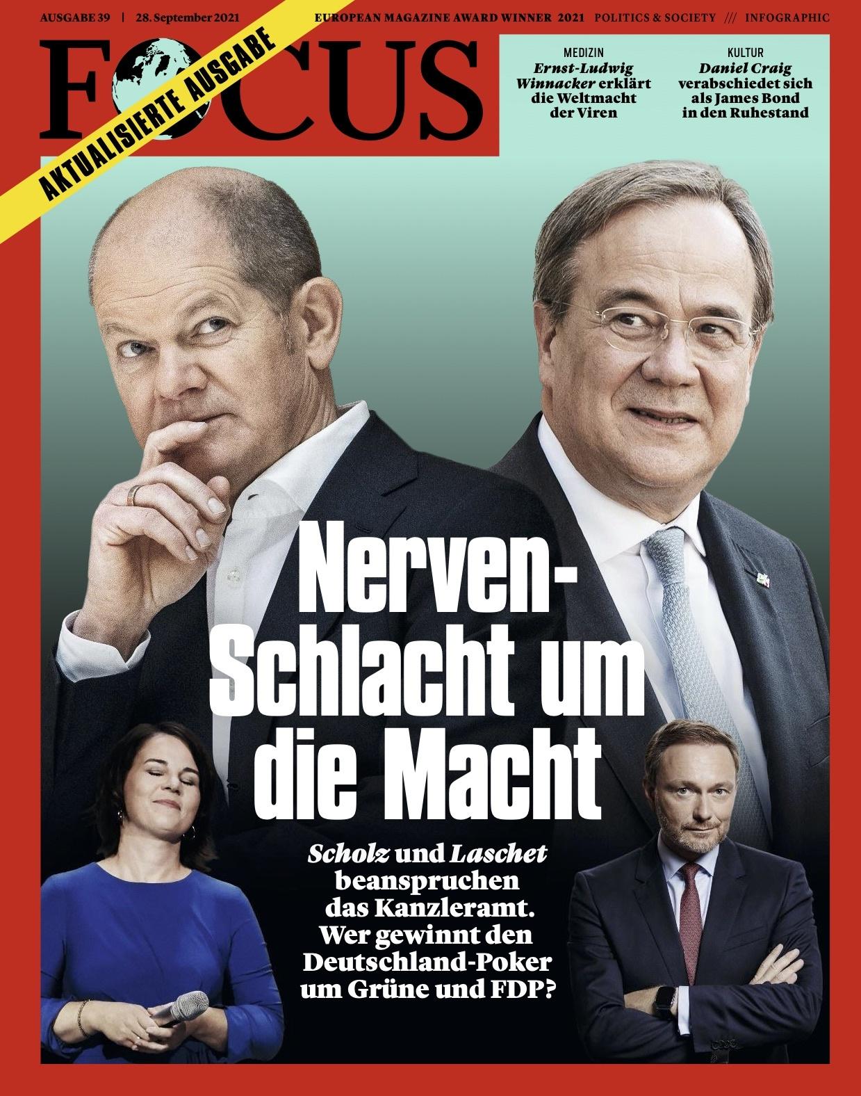 FOCUS Magazin FOCUS Magazin - Nerven-Schlacht um die Macht