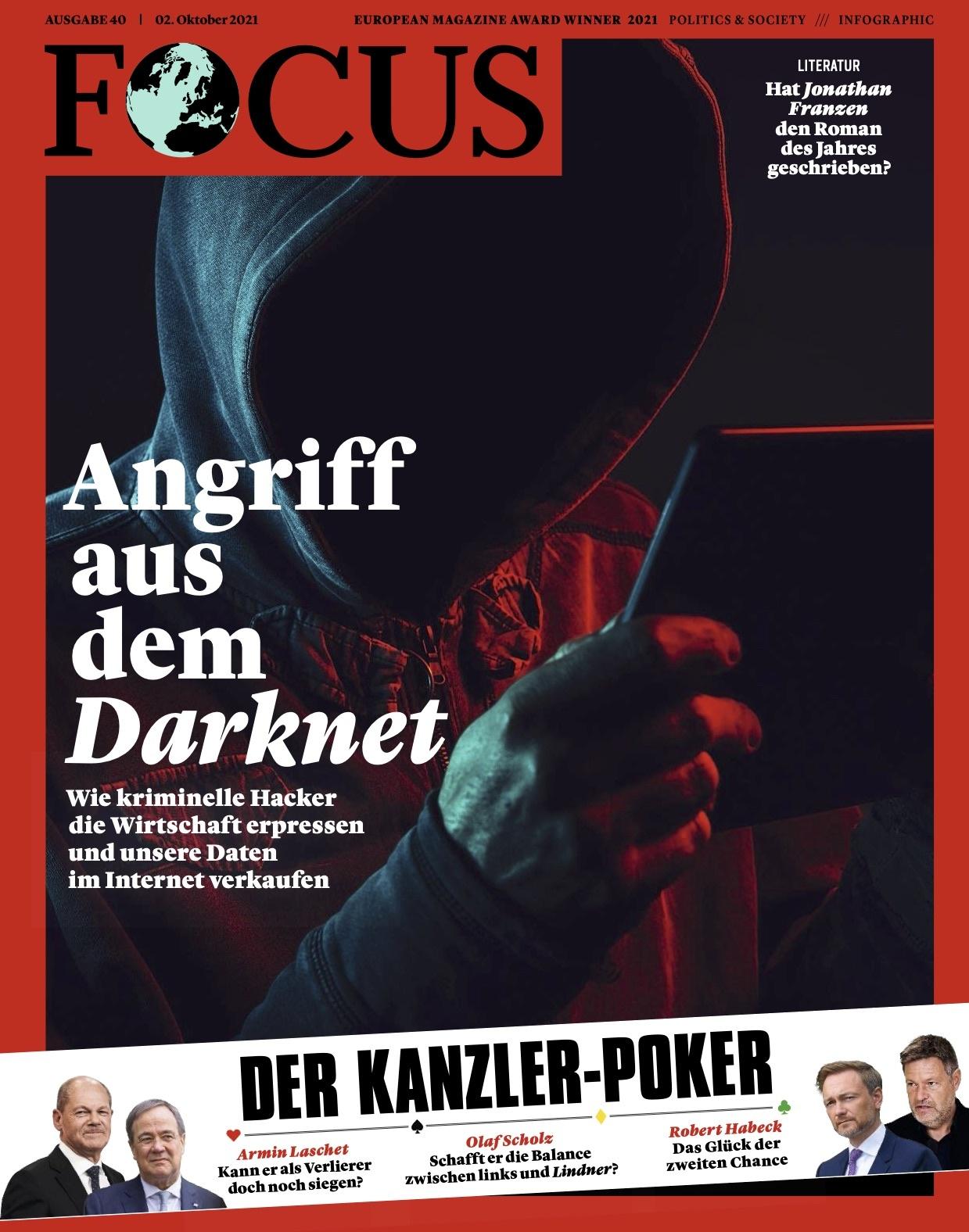 FOCUS Magazin FOCUS Magazin - Angriff aus dem Darknet