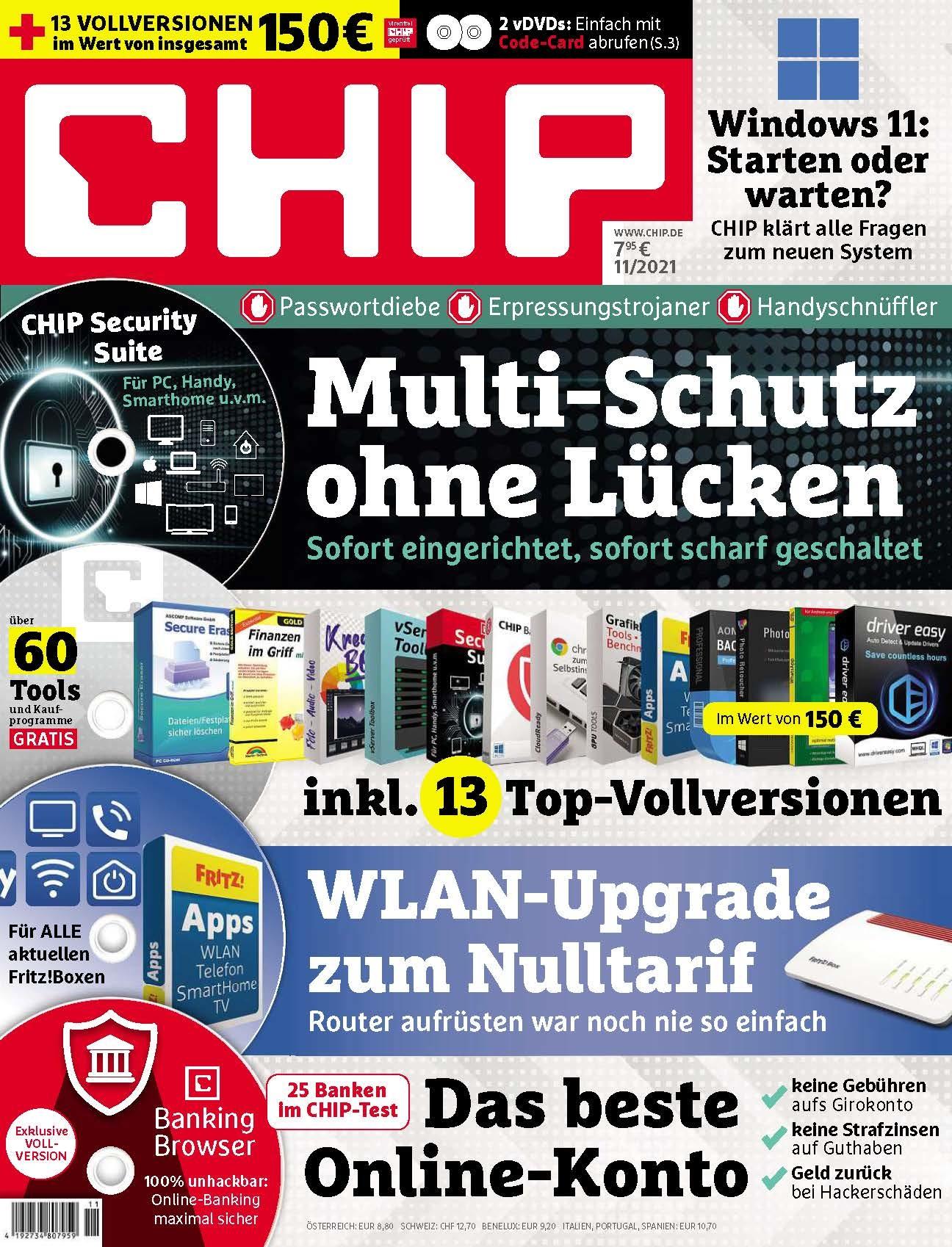 CHIP CHIP Plus – Multi-Schutz ohne Lücken