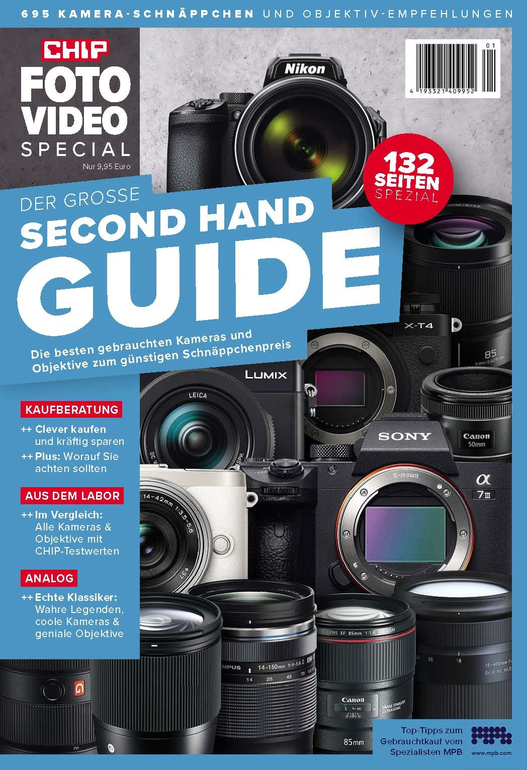 CHIP CHIP FOTO-VIDEO –  Special – Second Hand Guide