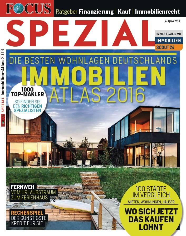 FOCUS-SPEZIAL FOCUS Spezial - Die besten Wohnlagen Deutschlands - 2016