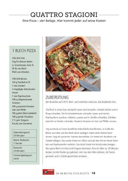 FOCUS Online Knusprig, saftig, lecker: Die 88 besten Pizza-Rezepte