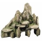 Aqua Della steen met mos L