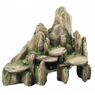 Aqua Della deco stone with moss L