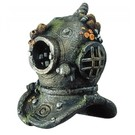 Diver helmet with airstond - 17cm