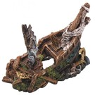 Galleon wreck - 22x11x15.5cm